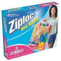ジップロックビッグバッグXXLサイズ防水バック大きいサイズ3枚
