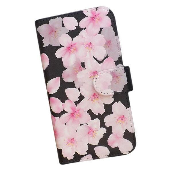 スマートフォンケース 手帳型 全機種対応 プリントケース 和柄 桜 花柄 おしゃれ