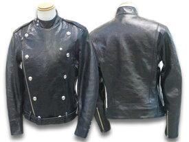 """【FREE WHEELERS/フリーホイーラーズ】「30〜40's Motorcycle Jacket Double Breasted Type""""CENTINELA""""LEATHER TOGS/モーターサイクルジャケットダブルブレステッドタイプ""""センチネラ""""」(1931003)【あす楽対応】(アメカジ/ハーレー/ホットロッド)"""