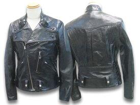 """【FREE WHEELERS/フリーホイーラーズ】「30's Motorcycle Jacket Double Breasted Type""""SAN MATEO""""/30'sモーターサイクルジャケットダブルブレステッドタイプ""""サンマテオ""""」(1931005)【あす楽対応】(アメカジ/ハーレー/ホットロッド/WOLF PACK/ウルフパック)"""