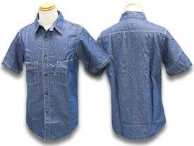 """【FREE WHEELERS/フリーホイーラーズ】2020SF「1920〜1940s Style Short Sleeve Work Shirts""""THE IRONALL FACTORIES CO.""""Cincinnati,Ohio/ショートスリーブワークシャツ」(2023010)【あす楽対応】(アメカジ/アウトドア/ハーレー/ホットロッド)"""