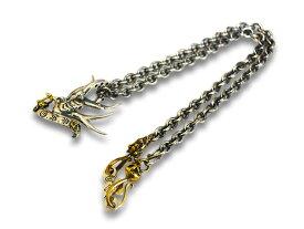 【GANGSTERVILLE/ギャングスタービル】×【galcia/ガルシア】「Swallow Pendant Top&Necklace Chain Set/スワローペンダントトップ&ネックレスチェーンセット」(GSG-NC002B)【送料・代引き手数料無料】【あす楽対応】(WEIRDO/ウィアード/GLAD HAND/グラッドハンド)