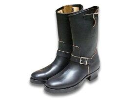 """【CLINCH/クリンチ】「11inch Engineer Boots""""Classic Narrow""""/11インチ エンジニアブーツ""""クラシックナロー""""」(ラティゴオーバーダイブラック)【あす楽対応】(BRASS TOKYO/ブラス東京/エンジニアブーツ/クリンチブーツ/ハーレー/WOLF PACK/ウルフパック)"""
