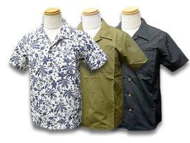 """全3色【MOSSIR/モシール】2020SS「S/S Open Collar Shirts""""John""""/ショートスリーブオープンカラーシャツ""""ジョン""""」(MOST002)【送料・代引き手数料無料】【あす楽対応】(ファインクリークアンドコー/ファインクリークレザース/CWORKS/アメカジ/WOLF PACK)"""