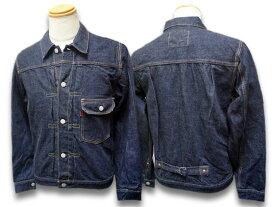 """【FULLCOUNT/フルカウント】「1st Model Denim Jacket""""Flap Pocket""""/ファーストモデルデニムジャケット""""フラップポケット""""」(2107W)【あす楽対応】(デニム/ジーンズ/インディゴ/アメカジ/ハーレー/ホットロッド/Gジャン/WOLF PACK/ウルフパック)"""