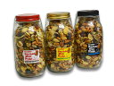 "【MUNCHIE FOODS/マンチーフーズ】「Smoked Mix Nuts""Large Bottle""/スモークドミックスナッツ""ラージボトル""」(500g)【DM便不可】…"
