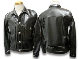 """【FINE CREEK LEATHERS/ファインクリークレザーズ】「Leather Jacket""""Richmond""""/レザージャケット""""リッチモンド""""」(FCJK001)【送料・代引き手数料無料】【ご予約商品】(FINE CREEK&CO/ファインクリークアンドコー/MOSIR/モシール/CWORKS/シーワークス/アメカジ)"""
