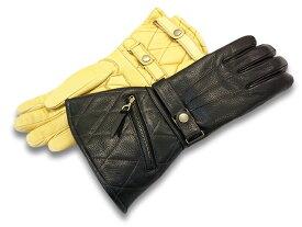 """全2色【POWWOW/パウワウ】「The Gauntlet Glove""""Type2""""/ザ・ガントレットグローブ""""タイプ2""""」【あす楽対応】(冬用ウインターグローブ/レザーグローブ/ハーレー/チョッパー/ボバー/バイク乗り/バイカー/プレゼント/手袋/WOLF PACK/ウルフパック)"""