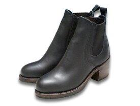 """ケアグッズ1点サービス【RED WING/レッドウイング】「Side Gore Boots""""Harriet""""/サイドゴアブーツ""""ハリエット""""」(3473/Black Boundary)【あす楽対応】(エンジニアブーツ/ワークブーツ/ハーレー/バイク/アメカジ/PT91/PT83/レディース/WOLF PACK/ウルフパック)"""