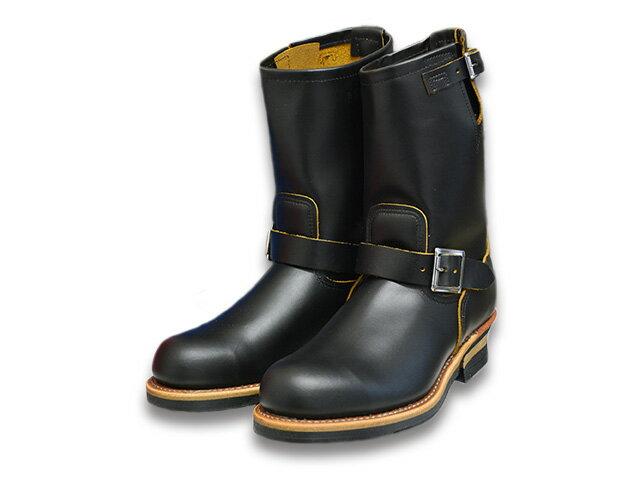 """【RED WING/レッドウイング】「11 inch Engineer Boots""""Stovepipe""""/11インチエンジニアブーツ""""ストーブパイプ""""」(9268/Black Klondike)【送料・代引き手数料無料】【あす楽対応】(茶芯/エンジニアブーツ/ワークブーツ/ハーレー/バイク/アメカジ/PT91/PT83)"""