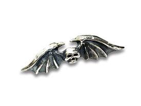 【SKULL FLIGHT/スカルフライト】「Bat Pins/バットピンズ」(Silver950)【DM便対応】【あす楽対応】(CALIFORNIA LINE/カリフォルニアライン/アメカジ/ハーレー/バイカー/ホットロッド)
