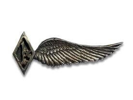 【SKULL FLIGHT/スカルフライト】Silver950 1% Wing Pins/シルバー950製1%ウイングピンズ【送料・代引き手数料無料】【あす楽対応】(CALIFORNIA LINE/カリフォルニアライン)