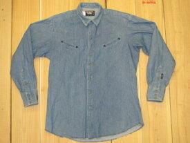 【中古】大きいサイズ 古着 BROOKS&DUNN デニム ウエスタンシャツ /XL