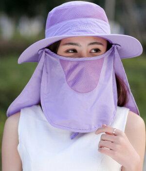 日よけレディース帽子【メール便送料無料♪】サファリハットつば女性用紫外線対策UV対策日焼け対策日よけ帽子夏便利折りたたみ旅行散歩ウォーキング海フェスキャンプガーデニング園芸夏