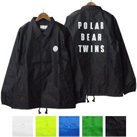 ポーラーベアーツインズ POLAR BEAR TWINS ジュンハシモト junhashimoto コーチジャケット COACH JACKET P041910001