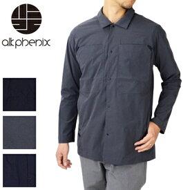 アルクフェニックス alk phenix クランクミルシャツ カルストレッチ crank MIL shirt karu stretch PO812LS02【お買い物マラソン】【キャッシュレス還元対象】