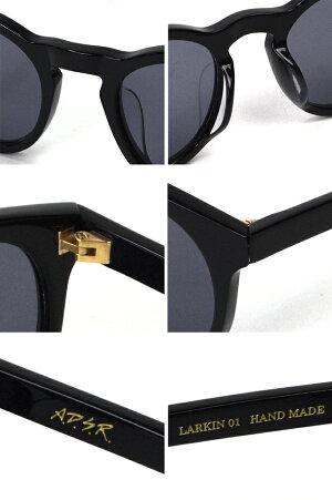 A.D.S.R.エーディーエスアールLARKINラーキンシャイニーブラックテラコッタハバナブラウンベージュ&レイヤーブラウンメガネ眼鏡アイウェアサングラス