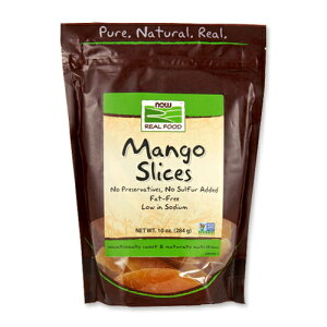 マンゴースライス 284g NOW Foods(ナウフーズ)果物/デザート/お菓子作り/フルーツ