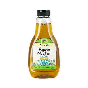 オーガニックアガベネクター ライト 660 g ( 23.28 oz ) NOW Foods (ナウフーズ)液状 アガベシロップ メープルシロップ