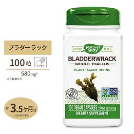 ブラダーラック(ヒバマタ) 580mg 100粒サプリメント/サプリ/ヨウ素/ダイエット/Nature's Way/ネイチャーズウェイ/