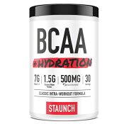 STAUNCHBCAA+ハイドレーションパインアップル30回分高含有/BCAA/バリン/ロイシン/イソロイシン