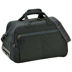 [VALENTINO VISCANI] VV2輪ボストントロリー キャリーバッグ 機内持ち込みサイズ キャリーカート ソフト 軽量 ボストンバッグ ボストンバック  旅行カバン 旅行かばん  黒 #15180 [ヴァレン