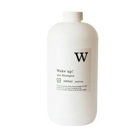 [uka] ウカ シャンプー ウェイクアップ ビッグボトル1000ml uka Shampoo Wake up! BIG BOTTLE  [シャンプー/UKA]/管番3000