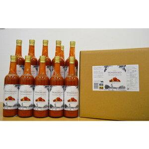 お中元 ワンダーファーム 送料無料 WONDER RED プレミアムトマトジュース 500g 12本入り 食塩無添加 100% トマトジュース トマト