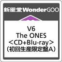 【オリジナル特典付】V6/The ONES<CD+Blu-ray>(初回生産限定盤A)[Z-6420]20170809