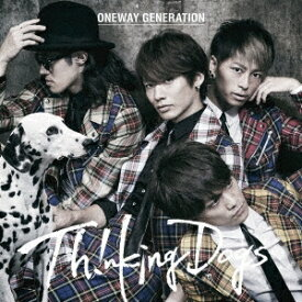 Thinking Dogs/Oneway Generation<CD>(通常盤)20171025