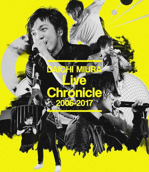 【オリジナル特典付】三浦大知/Live Chronicle 2005-2017<Blu-ray (スマプラ対応)>[Z-6765]20171227