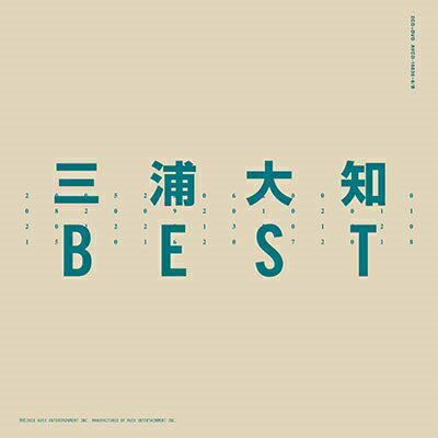 【オリジナル特典付】三浦大知/BEST<2CD+DVD(スマプラ対応)>[Z-6766]20180307