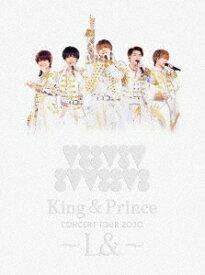 ●King & Prince/King & Prince CONCERT TOUR 2020 〜L&〜<Blu-ray>(初回限定盤)20210224