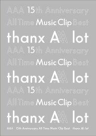 【先着特典付】AAA/AAA 15th Anniversary All Time Music Clip Best -thanx AAA lot-<3Blu-ray>[Z-8997]20200219