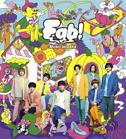 ●Hey! Say! JUMP/Fab! -Music speaks.-<CD+DVD>(初回限定盤1)20201216