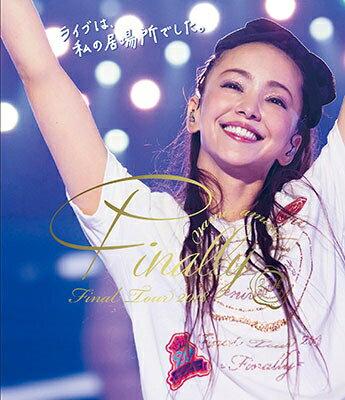 ◆◆安室奈美恵 /namie amuro Final Tour 2018 〜Finally〜 (東京ドーム最終公演+25周年沖縄ライブ)<Blu-ray>(通常盤)20180829