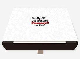 ◎Kis-My-Ft2/LIVE TOUR 2018 Yummy!! you&me<3DVD+2CD>(初回盤)20181128