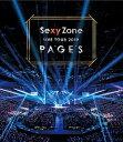 【先着特典付】Sexy Zone/Sexy Zone LIVE TOUR 2019 PAGES<Blu-ray>(通常盤)[Z-8523]20190828