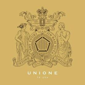 【先着特典付】UNIONE/to you<CD>(通常盤)[Z-9141]20200311