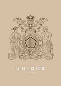 【先着特典付】UNIONE/to you<CD+フォトブック>(初回生産限定盤B)[Z-9141]20200311