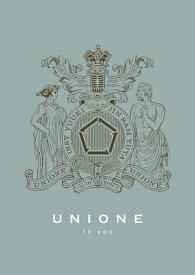 【先着特典付】UNIONE/to you<CD+DVD>(初回生産限定盤A)[Z-9141]20200311