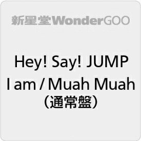 【先着特典付】Hey! Say! JUMP/I am / Muah Muah<CD>(通常盤)[Z-8973]20200226