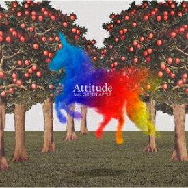 ■■Mrs. GREEN APPLE/Attitude<CD>(通常盤)20191002