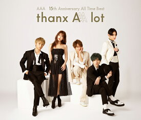 【オリジナル特典付】AAA/AAA 15th Anniversary All Time Best -AAA lot-<4CD>[Z-8993]20200219