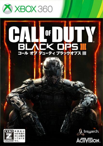 【中古】【XBOX360】コールオブデューティ ブラックオプスIII【4549576040851】【CERO区分_Z】