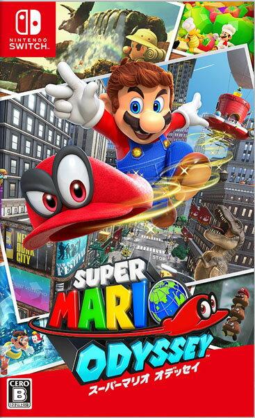 【中古】【Switch】スーパーマリオオデッセイ【4902370537789】【マリオ】
