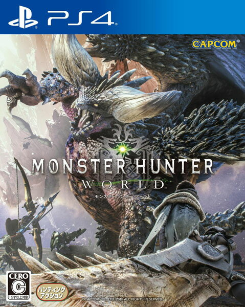 【特典付き】モンスターハンター ワールド<PS4>(通常版)20180126