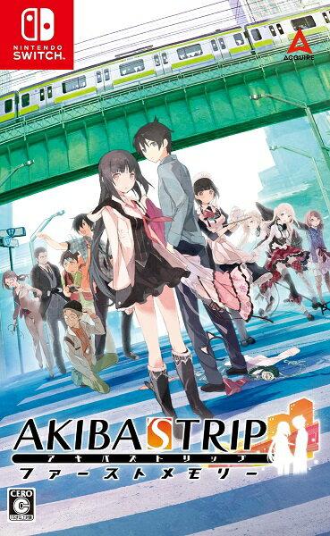 【オリ特付】AKIBA'STRIPファーストメモリー<Switch>(通常版)[Z-10566・10567]20210520