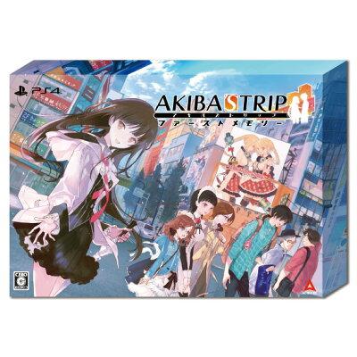 【オリジナル限定セット付】AKIBA'STRIPファーストメモリー初回限定版10thAnniversaryEdition<PS4>[Z-10563・10564・10565・10566・10567]20210520