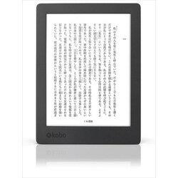 Kobo Aura H2O Edition 2(ブラック)<電子書籍リーダー>N867-KJ-BK-S-EP[Z-7177]